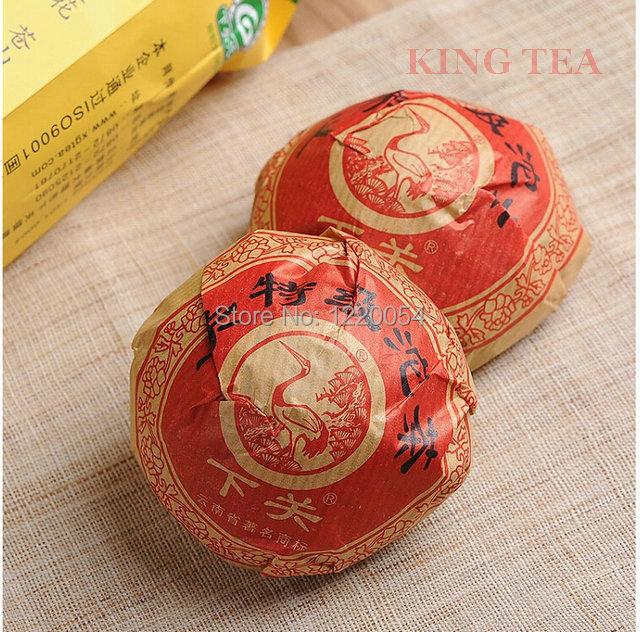2014YR XiaGuan TeJi Tuo Bowl 100g YunNan MengHai Organic Puer Raw Tea Weight Loss Slim Beauty Sheng Cha !<br><br>Aliexpress