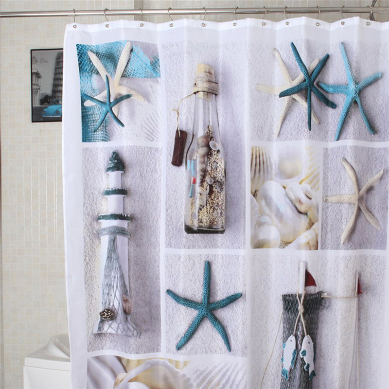 Cortinas De Baño Lavables:Waterproof Fabric Shower Curtain