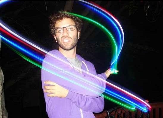 FREE SHIPPING Finger light laser light blended-color led projection lamp finger lights(China (Mainland))