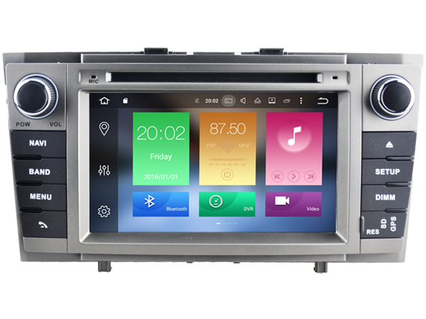 Android 6.0 CAR DVD GPS FOR TOYOTA AVENSIS 2008-2013 support DVR WIFI DSP DAB OBD car multimedia AUTO Octa8 Core 2GB RAM 32GBROM