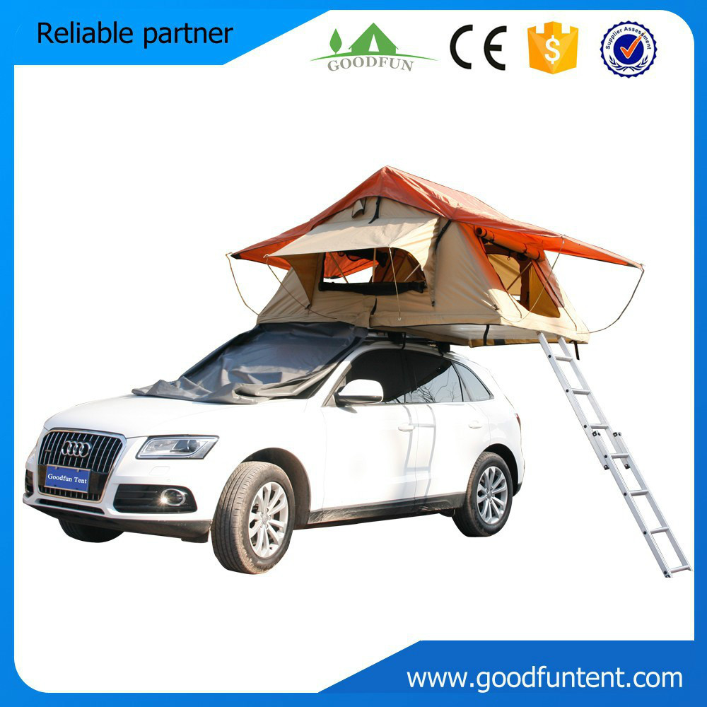 Fashion design High quality roof top camping car roof tent for 2-3 persons(China (Mainland))