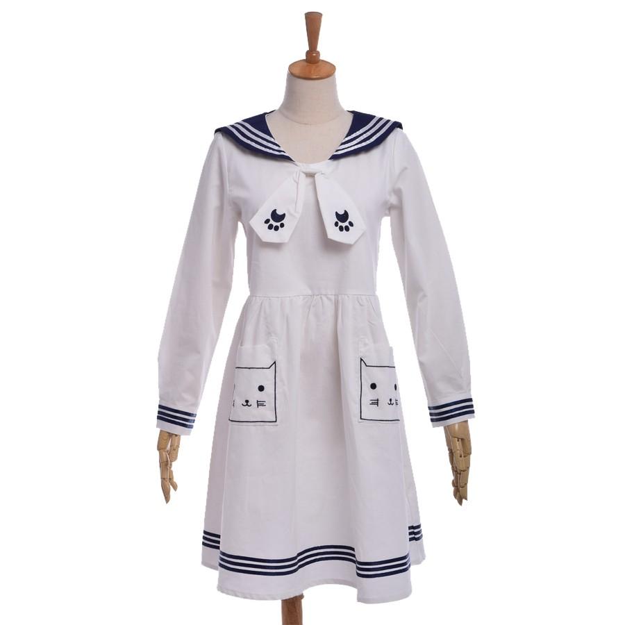 Cute Sailor Dress (1)