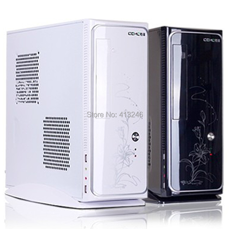 2015 Mini chassis HTPC chassis mini chassis mini pc case desktop pc case Support Discrete graphics ATX power supply(China (Mainland))