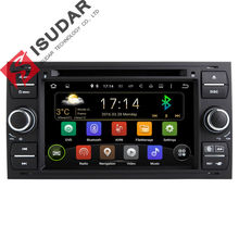 2 Din 7 Inch In Dash Android Car DVD Player For Ford/Mondeo/Focus/Transit/C-MAX With Quad Core Wifi GPS Navigation Radio FM(China (Mainland))