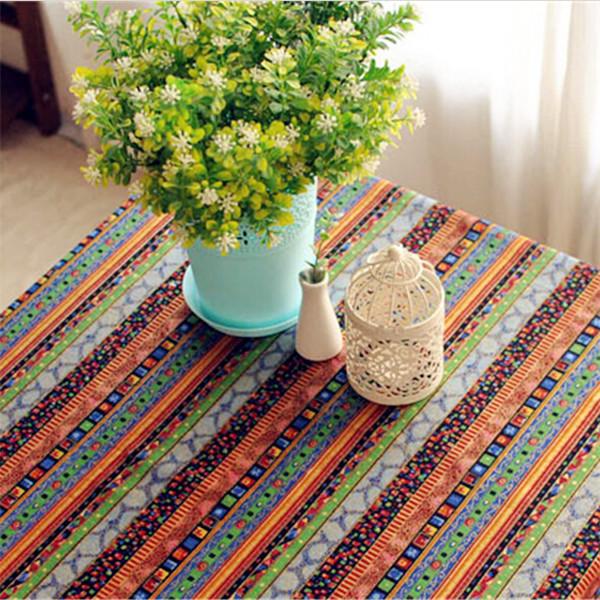 Lace Crochet tablecloth Orange Stripe Toalhas De Mesa Retangular Bohemian Dining Table Cloth Handmade Lace Crochet Tablecloth(China (Mainland))