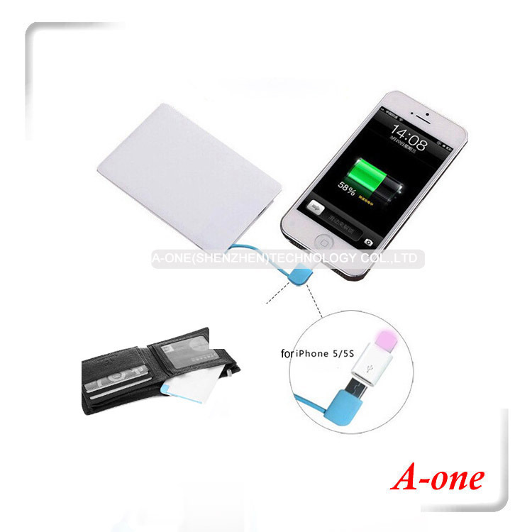 5pcs 4000mah Provide Power at Our Fingertips Cheap Pocket Charger for Mobile Phone Samsung Blackberry(China (Mainland))