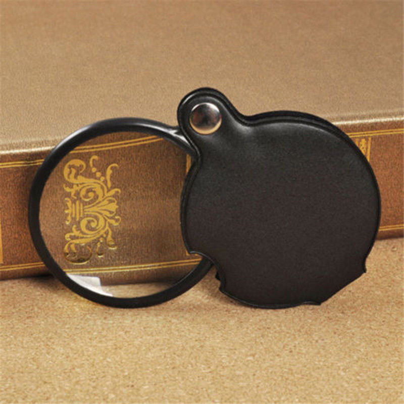 Quality Camping Travel Mini Pocket Folding Magnifier Magnifying Glass Loupe Lens<br><br>Aliexpress