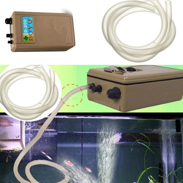 Hot Sale Fish Tank Aquarium Waterproof Oxygenation Air Water Pump Battery For Fishing Supplies(China (Mainland))