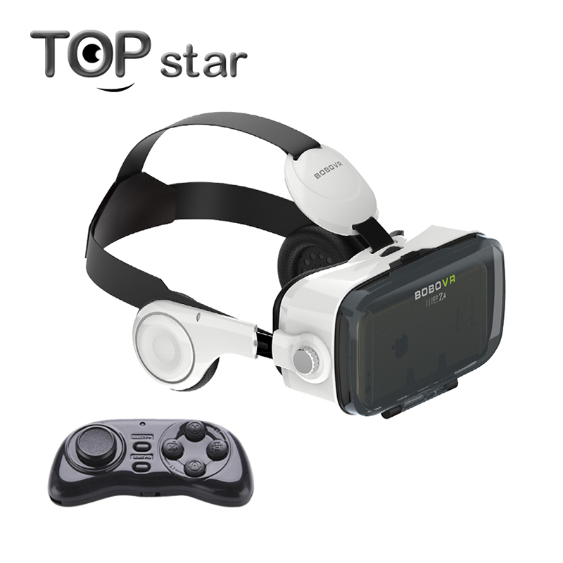 Original Xiaozhai BOBOVR Z4 3D Virtual Reality 3D VR Glasses Private Theater for 3.5 - 6.0 inches Phones Immersive +Remote(China (Mainland))