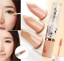 2015 New hot sale Foundation Hide Blemish Dark Circle Cream Concealer base Liquid Lipgloss camouflage contouring Concealer(China (Mainland))