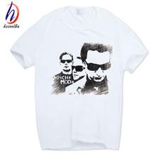 Buy Hecoolba 2017 Men's Depeche Mode Alternative Dance T-shirt Short sleeve O-Neck Tshirt Hip Hop Camisetas Masculina T shirt HCP297 for $6.45 in AliExpress store