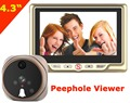 Shipping Free Wireless Touch Key 7 inch LCD Video Door Phone Intercom System With IR Camera 1000 TV Line Waterproof