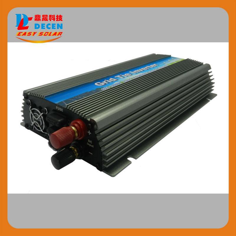 DECEN@ 20-50V 4PCS 1000W Pure Sine Wave Solar Grid Tie MPPT Inverter, Output 190-260V.50hz/60hz, For Home Alternative Energy(China (Mainland))