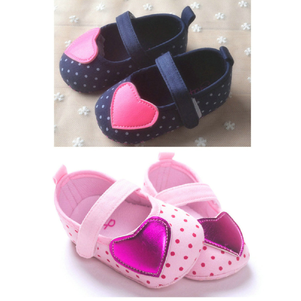 Baby Girl Shoes,brand new heart Baby girl shoes,first walkers,infant todder shoes,baby shoes for girls(China (Mainland))