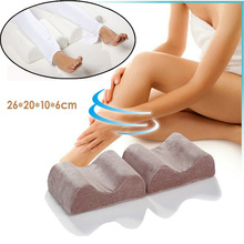 Knee Pillow Bed Cushion Wedge Pressure Relief Sleep Support Aid Knee Ease Pillow Cushion Comforts Bed Sleeping Seperate Back Leg(China (Mainland))