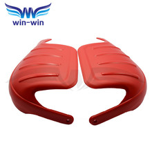 new arrival motorcycle handguards red color mx hand guard windproof wind proof potective gears motor protect 2 colors optional