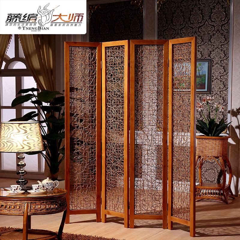 Rattan Furniture Screen Folding Fashion