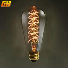 Buy Ming&Ben Vintage Edison Bulbs E27 220V Christmas Tree Incandescent Bulbs 40W ST64 Filament Retro Edison Light Pendant Lamp for $3.84 in AliExpress store