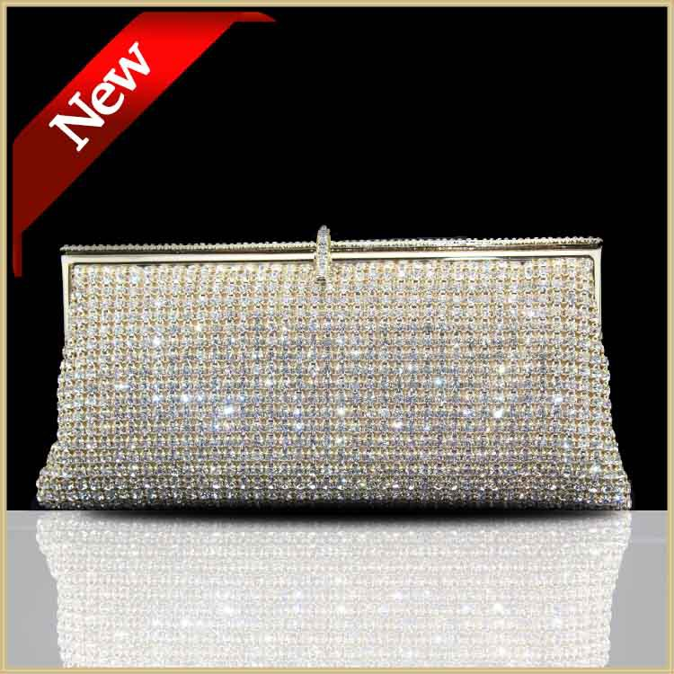 DHL FREE Luxury Women Day clutches evening bags Diamond Clutch wedding Party Clutch Bag Silver Women Gold Handbag Purse 80228(China (Mainland))
