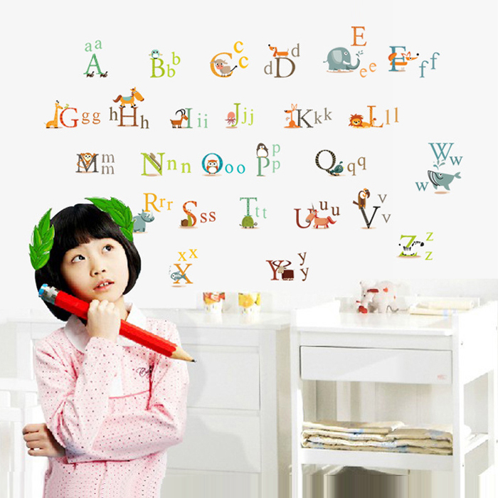 product Letter wallpaper paste tv wall sofa wall stickers