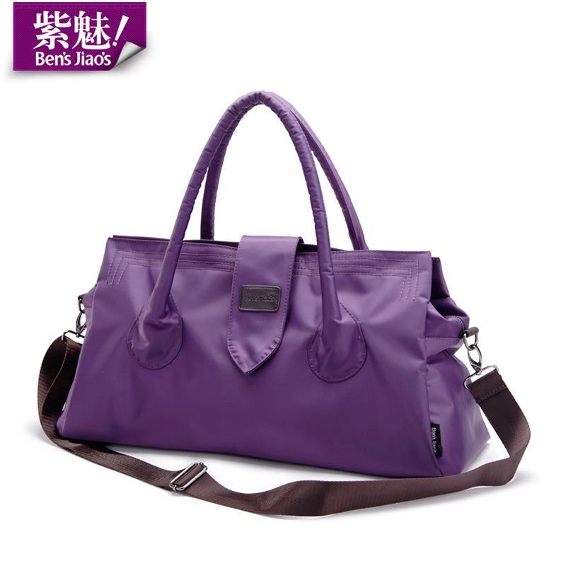 BensJiaos women large & medium travel duffle handbags ladies waterproof nylon gym hand bag big shopping shoulder trip tote bags(China (Mainland))