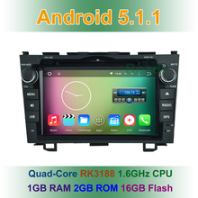 1024*600 Quad Core Android 5.1.1 Car DVD Player GPS Honda CRV CR V 2006 2007 2008 2009 2010 2011 BT Wifi Radio - Shenzhen KAIZE Technology Co., Ltd. store