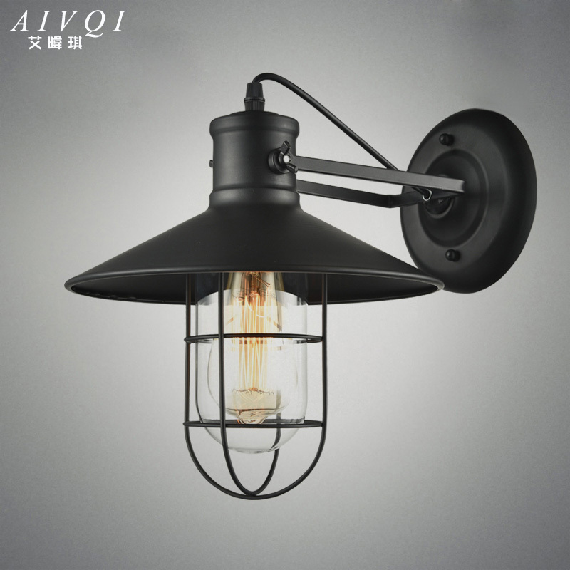 Loft Industrial Wall Lamps American Vintage Wall Lamp Indoor Lighting Bedside Lamps for Home Decor E27 110V 220V Edison Lamp<br><br>Aliexpress