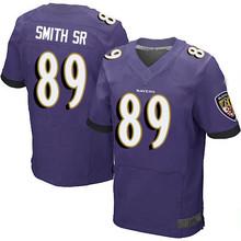 Men's #89 Steve Smith Sr Sr Elite Purple Team Color Football Jersey 100% stitched(China (Mainland))