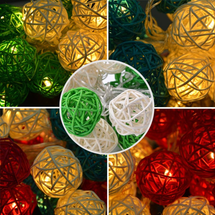 Most Beautiful party Chrismas indoor string lights,garland lights,3M,ball Pendant for Christmas tree,decoration lamp 31(China (Mainland))