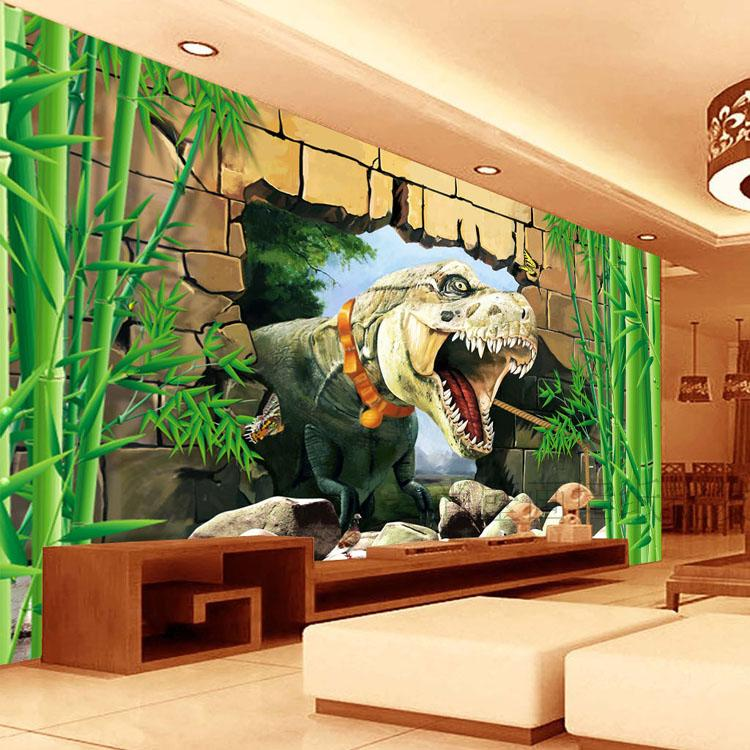 Free Shipping science fiction theme of children room amusement park restaurant mural wallpaper(China (Mainland))