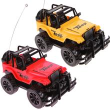 1:24 Drift Speed Radio Remote Control RC Jeep Off-Road Vehicle and Headlight Random Color(China (Mainland))