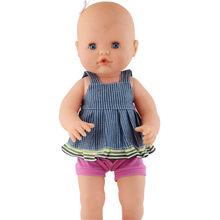 แฟชั่นรองเท้าตุ๊กตาสีชมพู 35 ซม. Nenuco ตุ๊กตา(China)