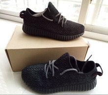 Authentic 2015 High Quality new Designer Hip Hop Kanye Boots Cheap Wholesale West 350 low White Footwear Shoes Size:5.5-11 /H20(China (Mainland))