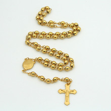 2015 Hot men necklace Wholesale Free shipping 18k gold necklaces pendant Men's/Woman's jewlery Jesus cross statement necklaces