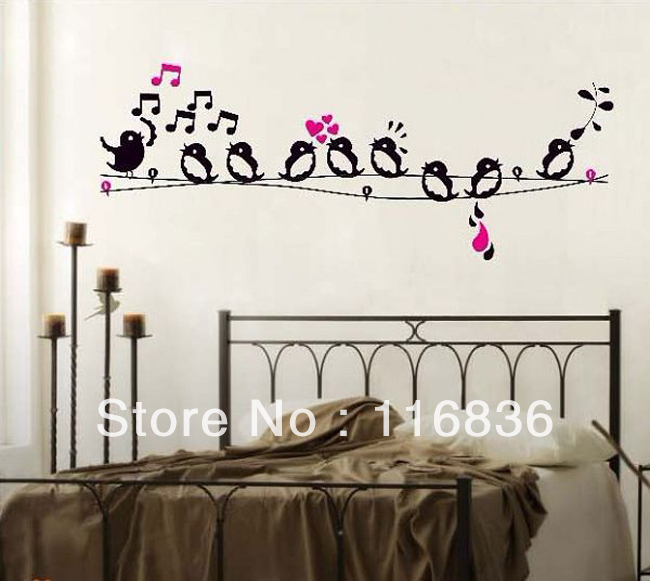 Free shipping 1 set retail house decoration singing birds for Room decor jeneration