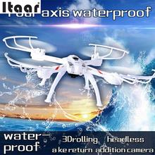 2.4GHz 4CH Drone With Camera Waterproof Headless Mode RC Quadcopters Helicopter Drop Shipping