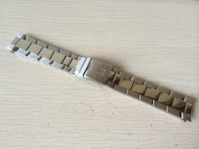 22mm (Buckle 20mm) NEW Polished Finish Pure Solid Stainless steel Watchband BANDS Watch Strap Bracelets T039417