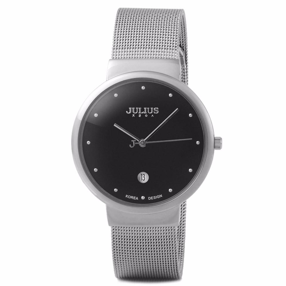 <font><b>mens</b></font> <font><b>watches</b></font> top brand luxury Julius waterroof 30M Stainless Steel Analog Display Quartz <font><b>Men</b></font> <font><b>Wrist</b></font> <font><b>watch</b></font> Ultra Thin Dial <font><b>watch</b></font>