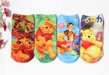 2016 Wholesale Free shipping 6 pairs high quality  cotton cartoon children socks girls kid at factory prices cartoon socks(China (Mainland))