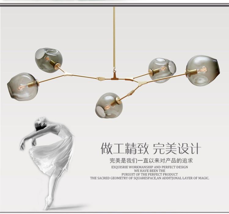 Купить Линдси Эйдельман Глобус Ветвления Пузырь Люстра 110 В 220 В Современная Люстра Освещение