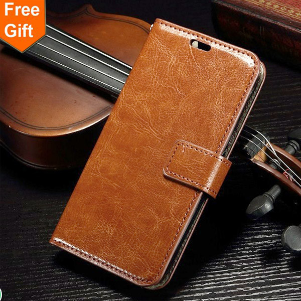 FOR SONY E3 New 2015 Genuine Leather Wallet Photo Frame Stand Case For Sony Xperia E3 D2212 D2203 D2206 Phone Bag Card Holder(China (Mainland))