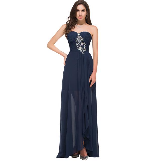 Горячая! Грейс карин без бретелек сексуальные женщины вечерние платья красный синий ...
