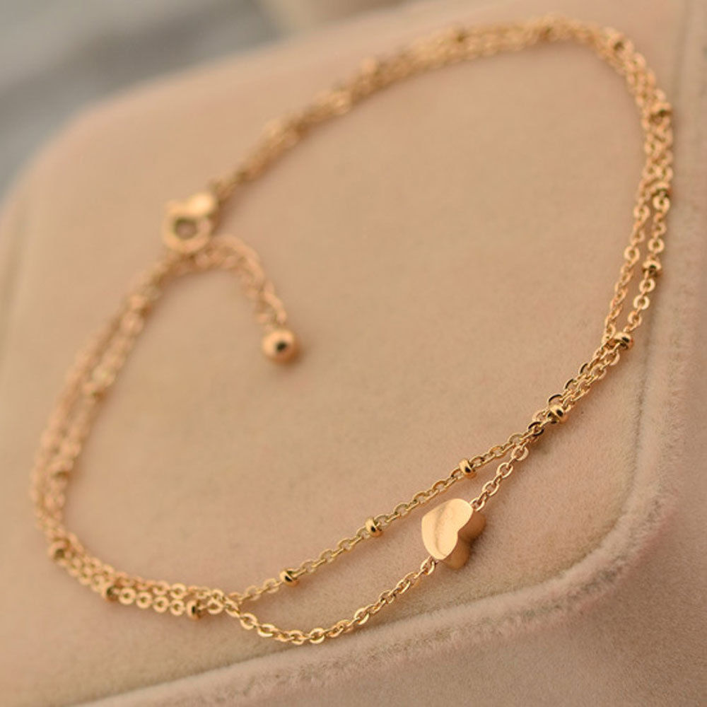 pics for gt gold anklet chain