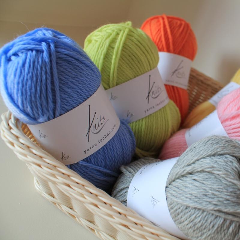 Knitting Yarn Aliexpress : Aliexpress buy medium thickness wool hand
