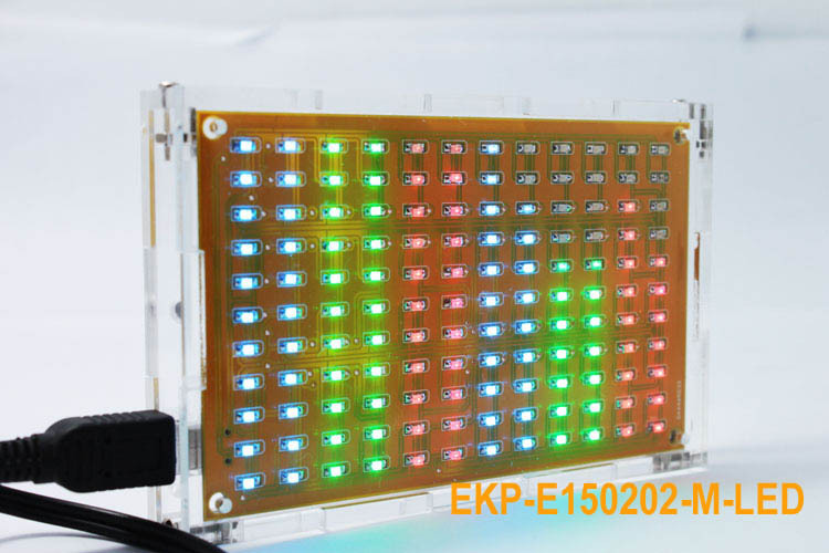 DIY KIT LED Music Spectrum Display Kit Funny Weekend Project for Electronic Makers(China (Mainland))