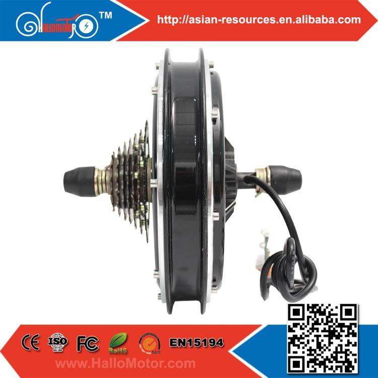Ebike Motor Cassette Freehub Electric Bike Rear Wheel 48V 1000W Brushless Gearless DC Hub