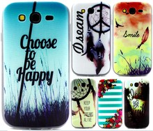For Samsung Grand Neo Cover Ultrathin TPU Fashion Painting Cases For Samsung Galaxy Grand Neo Case i9060 Silicon Phone Shell ]