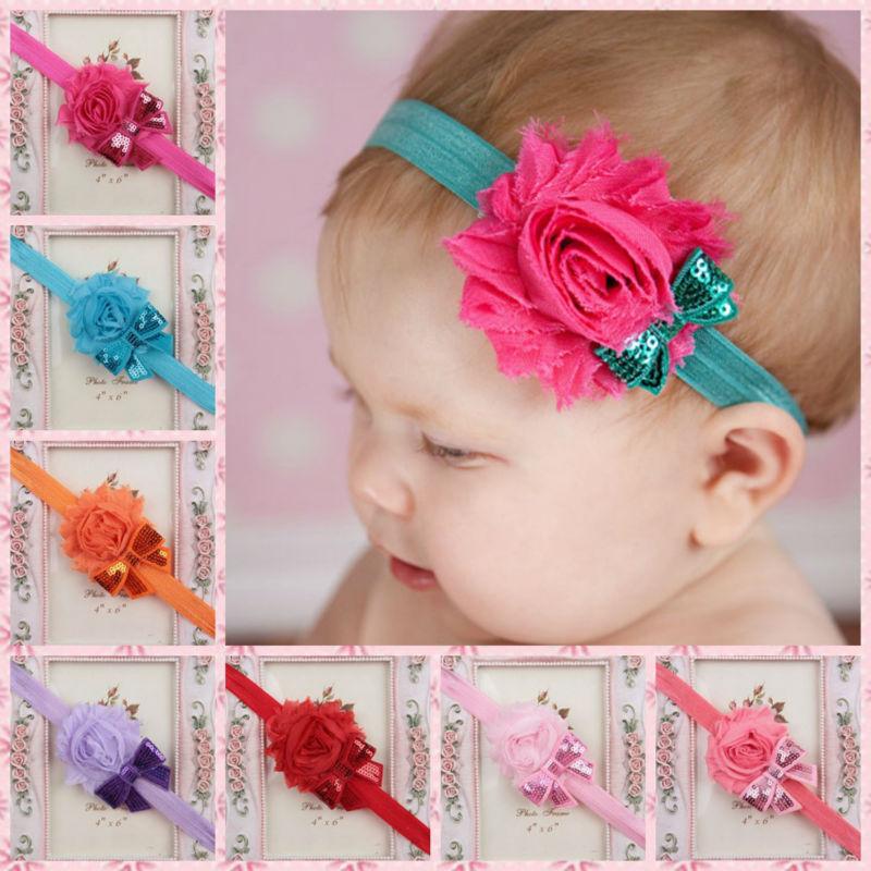 Как сделать повязку на голову для новорожденной своими руками