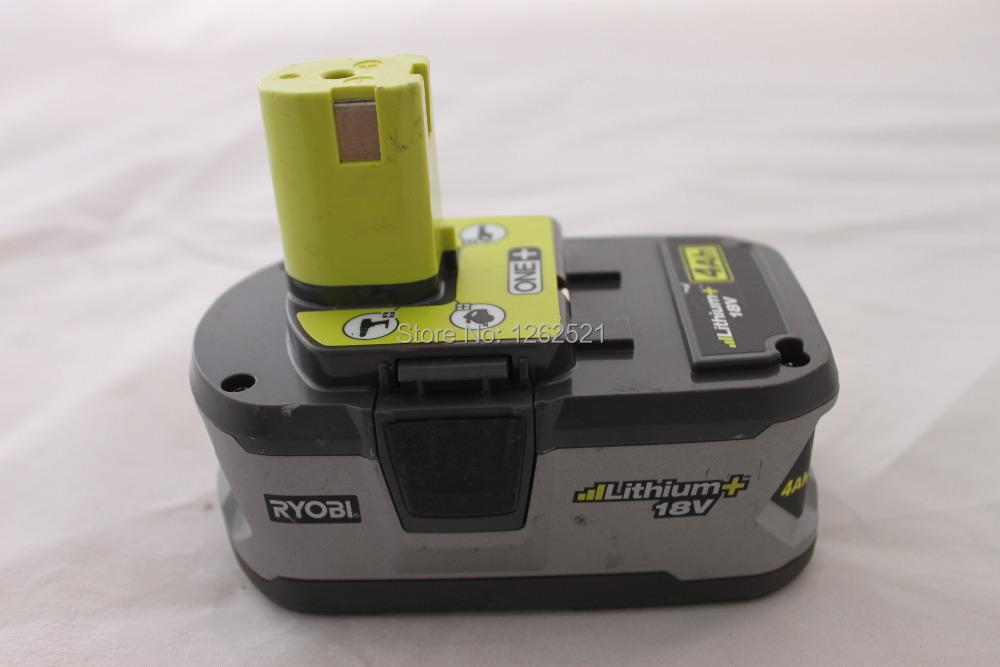 4000mA Used Ryobi P108 power tool lithium ion li-ion rechargeable battery 18V for UK\AU\USA(China (Mainland))