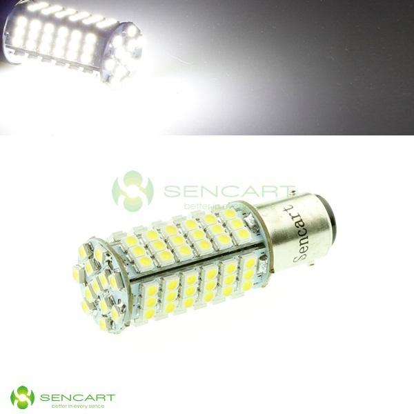 White Turn light 1157 Super Bright 102 SMD LED Bulb Turn signal    Reverse light  Brake lights Taillights